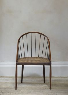 Set of Four Brazilian Spindle Back Chairs by Joaquim Tenreiro | Rose Uniacke