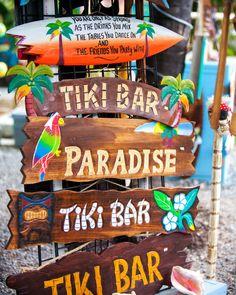 Which Way Tiki Bar Art Print
