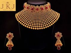 JKJ is top 10 trusted Jewellers in Jaipur and India and has a top royal gold jewellery store that offers designer diamond and bridal polka jewellery and many other jewellery types Gold Jewellery Design, Gold Jewelry, Gold Necklace, Indian Wedding Jewelry, Bridal Jewelry Sets, Jewelry Patterns, Anarkali, Choker, Crown