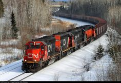 RailPictures.Net Photo: IC 6254 Canadian National Railway EMD SD40-2 at Gilbert, Minnesota by Mike Mautner