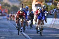 #Tirreno 52nd Tirreno-Adriatico 2017 / Stage 6 Arrival / Fernando GAVIRIA (COL) Celebration / Peter SAGAN (SVK) Red Points Jersey / Ascoli Piceno - Civitanova Marche (168km) /