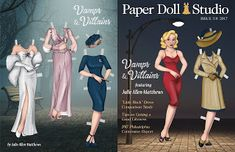Paper Doll School: Paper Doll Studio Issue 118 Preview