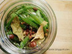 Jenny's Cookbook: Quick Pickled Beans - Secret Recipe Club