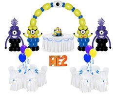Despicable Me Balloon Package