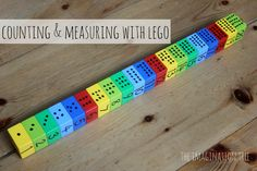 Counting and measuring with lego: preschool math activities