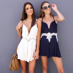 Loving these cute matching James Playsuits from Peppermayo.com