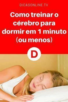Trucos para dormir rapido | Como treinar o cérebro para dormir em 1 minuto (ou menos) | Vamos colocar em pratica!