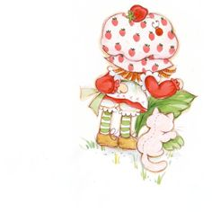 This was a great weekend! Strawberry Shortcake Characters, Vintage Strawberry Shortcake, My Melody Wallpaper, Strawberry Art, Cartoon Posters, Cartoon Tv Shows, Rainbow Brite, Old Cartoons, Vintage Paper Dolls