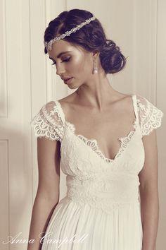 Anna Campbell Wedding Dresses Gossamer Bridal Colletion wedding ideas, wedding inspiration, bridal gown, bride                                                                                                                                                                                 More