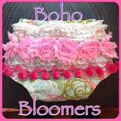 Sparkle Princess Shabby Chic Boho Bloomers by BohoBloomers on Etsy, $25.00