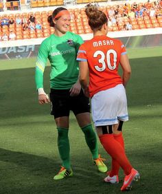 #Erin Mcleod & #Ella Masar #Houston Dash