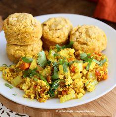 Vegan Pumpkin Biscuits with Sage & Thyme - Vegan Richa - Vegan Recipes By Richa Hingle