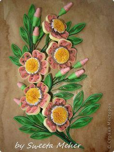 Картина панно рисунок Квиллинг Не новое но не обнародованное ч 2 Бумажные полосы фото 24