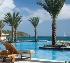 The largest freshwater infinity poll on the island -The Westin Dawn Beach Resort & Spa in St. Maarten #svnlife #stmaarten