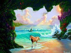 ❝ ¿Puedes encontrar los caballos escondidos en esta pintura? ❞ ↪ Vía: Entretenimiento y Noticias de Tecnología en proZesa