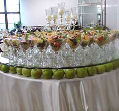 Fruit Cocktails with Ocean Blue Catering