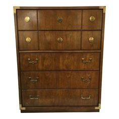 Huntley By Thomasville 5 Drawer Campaign Dresser