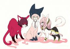 VY2 Yuuma, MEIKO, and Megurine Luka