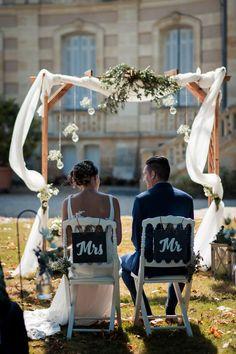 Le mariage champêtre de Justine au cœur des vignes