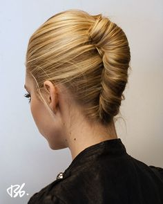 Trendy Hairstyles For Shoulder Length Hair Smart French Twist Easy Updo Hairstyles, Office Hairstyles, My Hairstyle, Elegant Hairstyles, Hair Updo, Hairstyles 2016, Medieval Hairstyles, Hairstyle Tutorials, Afro Hair