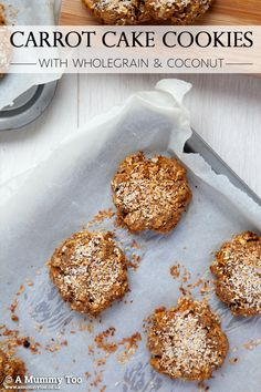 Jumbo carrot cake breakfast cookies