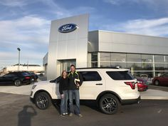 TAMMY AND JON, we appreciate your business!  Wishing you many miles of smiles from all of us here at Kunes Country Ford Lincoln of Delavan and Dan Schlitt JR.