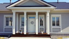 Decor, Outdoor Decor, Cottage, House, Home, Front Entry, Windows, Windows And Doors, New Homes
