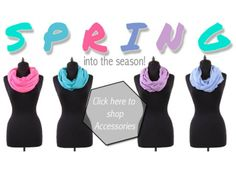 It's time to SPRING into the new season! New Scarves are Here!