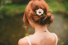 Lily Evans on Petunias wedding day