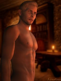 Cullen naked dragon age inquisition