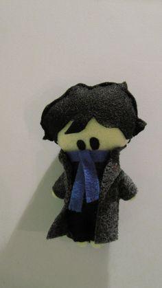 BBC Sherlock Holmes Plushie by PocketPlushies on Etsy, $8.00