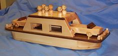 Wooden Toy car ferry