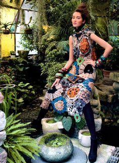 Designer Crochet: Missoni crochet flowers, beauti dress, design crochet, ernesto neto, flower dresses, doilies, missoni, flower crochet, playgrounds