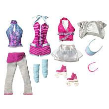 Barbie Sweet Wardrobe Fashion Doll Outfit - Roller Skating
