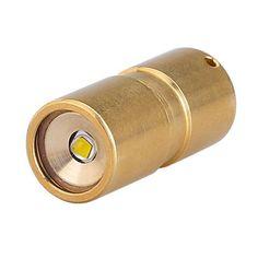 250963ff072f2 DQG Brass copper Fairy Brass XP-G2 R5 200 LM Mini LED Light Torch Flashlight