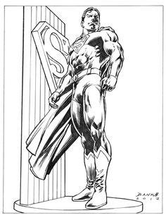 Last Son of Krypton: Superman Comic Art