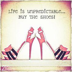Life is unpredictable...buy the #shoes  Nu 10% introductiekorting op onze gehele NIEUWE COLLECTIE met #kortingscode: nieuw10 http://www.subliemschoenentas.nl/nieuw?limit=all  Gratis Verzenden en Retourneren 14 dagen zichttermijn Besteld voor 12:00, dezelfde dag verzonden. (op werkdagen) Bezorging binnen 1-3 werkdagen Veilig betalen  Andere klanten beoordeelden subliem met een 9.2