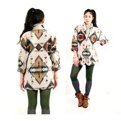 vintage southwestern geometric pattern woven by santokivintage