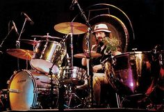John Bonham, June 8, 1977 at Madison Square Gardens, New York