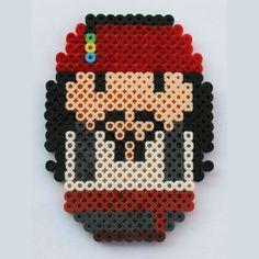 Jack Sparrow hama beads