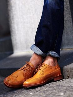 Just bought these in this color and I love them!  #shoes #wingtips #classy