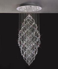 Floating Crystal Pendant Chandelier Lighting