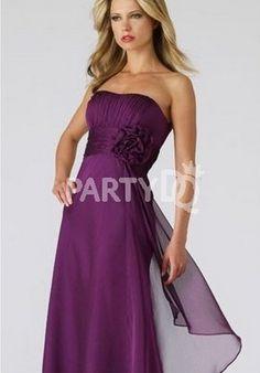 dark purple bridesmaid dress #purple