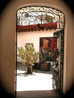 A door in Oaxaca, Mexico. Source: Amanda Young