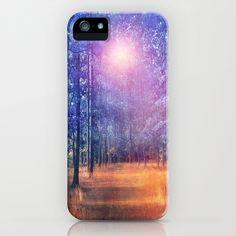 Enchanted forest  II iPhone & iPod Case by Viviana Gonzalez - $35.00