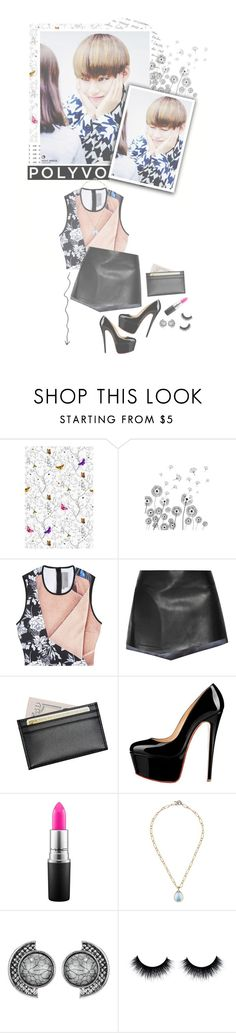 """""""Always melting my heart"""" by glitterlovergurl ❤ liked on Polyvore featuring Timorous Beasties, Clover Canyon, Esteban Cortazar, Morphic, Royce Leather, MAC Cosmetics, women's clothing, women, female and woman"""