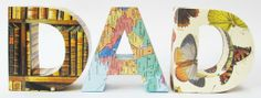 Custom 3D Letter Paper Sculptures by Little White Dog   Hatch.co