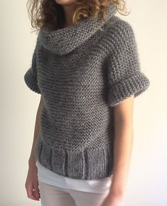 Ravelry: Project Gallery for Pull pattern by Phildar Design Team Vogue Knitting, Knitting Socks, Baby Knitting, Knit Cardigan Pattern, Knitted Poncho, Knitted Shawls, Knit Fashion, Ravelry, Knitting Patterns