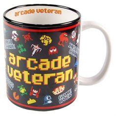 Mug retrgoaming arcade veteran