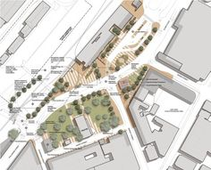 Phillimore Street Master Plan | donaldson + warn - lots of details - simple representation - nice tree blocks.